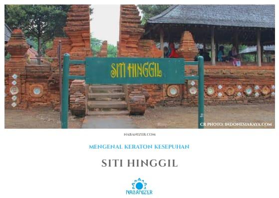 Siti Hinggil | Wisata Budaya Cirebon